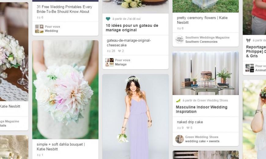 On respire mariage sur Pinterest.