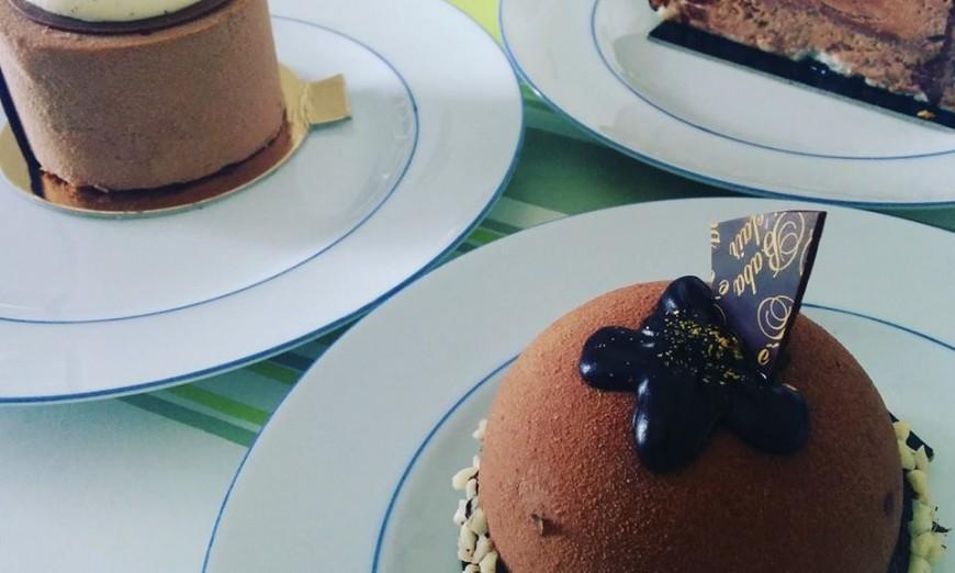 Dégustation des gâteaux, miam !