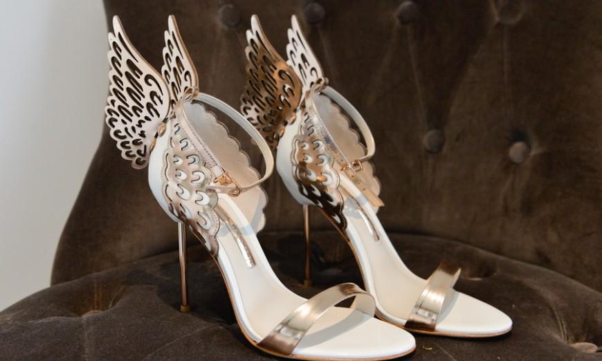 108070ccccf Mes chaussures de mariée   des sandales Sophia Webster